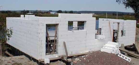 Дом из пенопласта и бетона своими руками 893